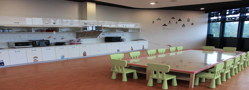 中心厨艺教室环境