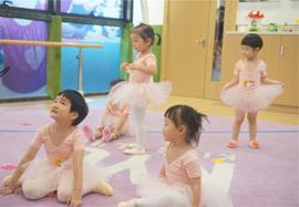 早教芭蕾舞课堂实拍