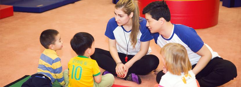 哈尔滨早教中心健身课