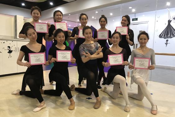 NYC早教特聘舞蹈专家刘霂佼到访NYC早教中心