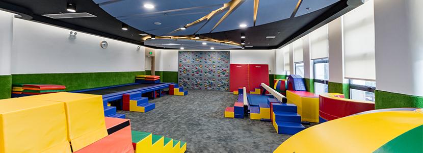 重庆早教中心健身课教室