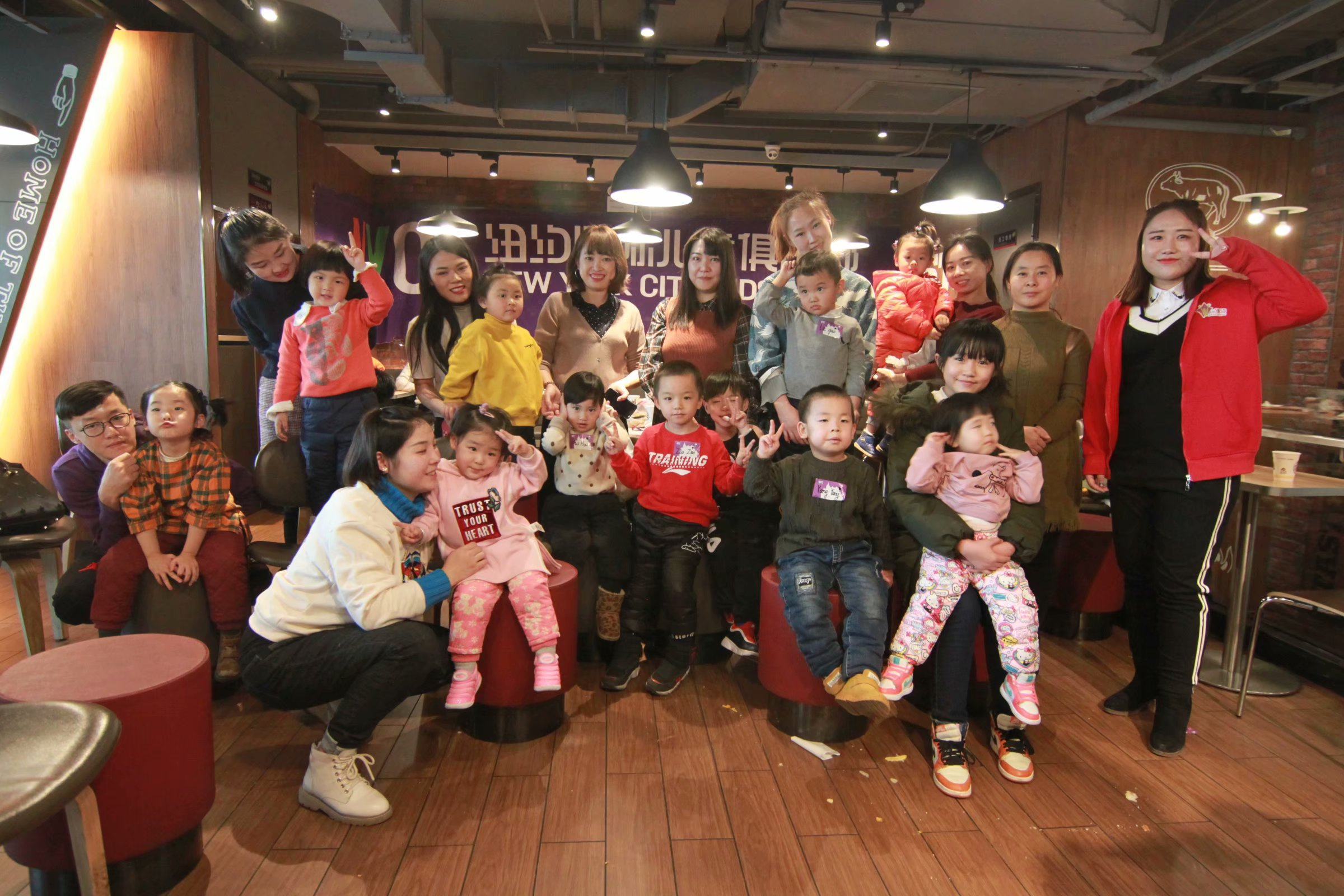 NYC纽约国际乌鲁木齐万达中心:大快朵颐的欢乐时光—NYC宝贝们的汉堡DIY活动回顾