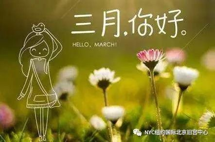 NYC纽约国际北京旧宫早教中心:三月活动预告