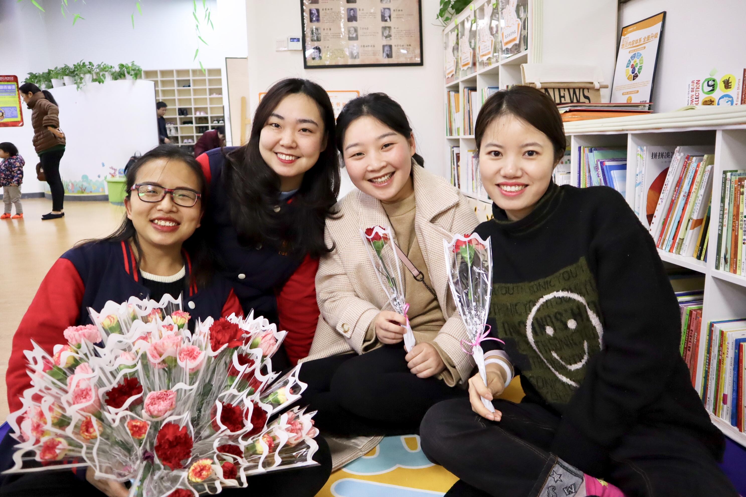 NYC纽约国际长沙阳光锦城早教中心:3.8女神节