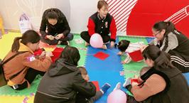 """NYC纽约国际安徽芜湖早教中心:""""风筝DIY""""小活动圆满结束啦!"""