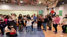 NYC纽约国际天津武清早教中心:日本女儿节活动回顾