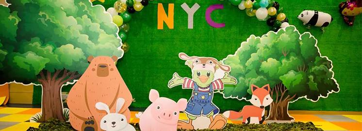"""来NYC,让宝宝变身为""""森林小勇士"""""""