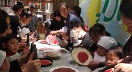 NYC纽约国际上海早教中心:【活动回顾】pizza DIY