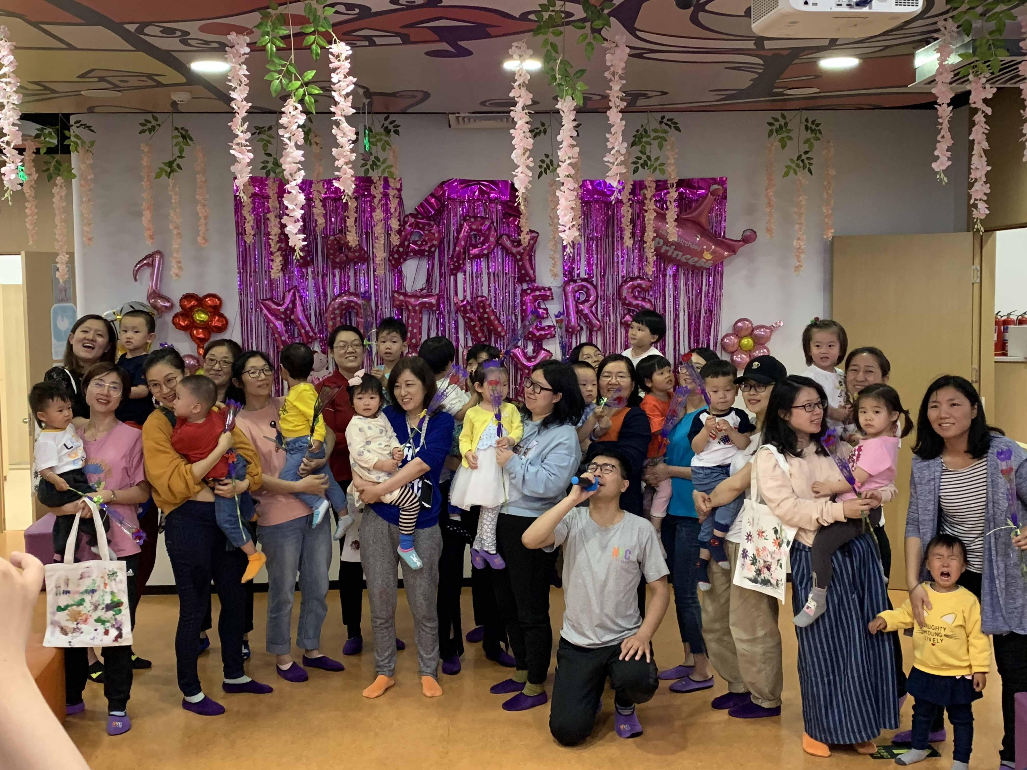 NYC纽约国际方庄早教中心:【精彩回顾】| 小鬼当家母亲节派对