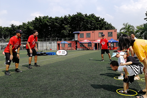 NYC纽约国际广州金沙洲早教中心:【活动回顾】橄榄球小战士,达阵啦!
