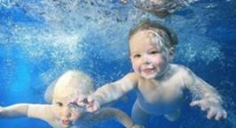 NYC纽约国际西铁营早教中心:户外课—亲子游泳