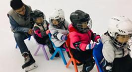 NYC纽约国际西铁营早教中心:炎炎夏日之小小滑冰员