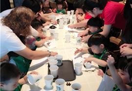 NYC杭州西溪早教中心:小小咖啡师