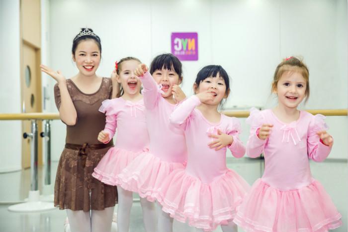 NYC纽约国际郑州建业5D早教中心芭蕾课