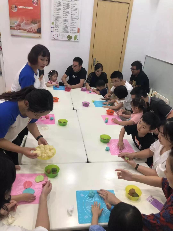 NYC纽约国际宁波早教中心:【活动回顾】欢庆中秋,月饼DIY