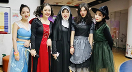 NYC纽约国际武汉早教中心:万圣节狂欢夜,萌鬼一起来捣蛋!