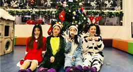 NYC纽约国际武汉早教中心:圣诞狂欢夜之旅回顾!