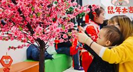 NYC纽约国际武汉早教中心:NYC新春狂欢会回顾,祝NYC宝贝春节快乐!
