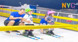NYC纽约国际沈阳早教中心:室内滑雪初体验活动回顾