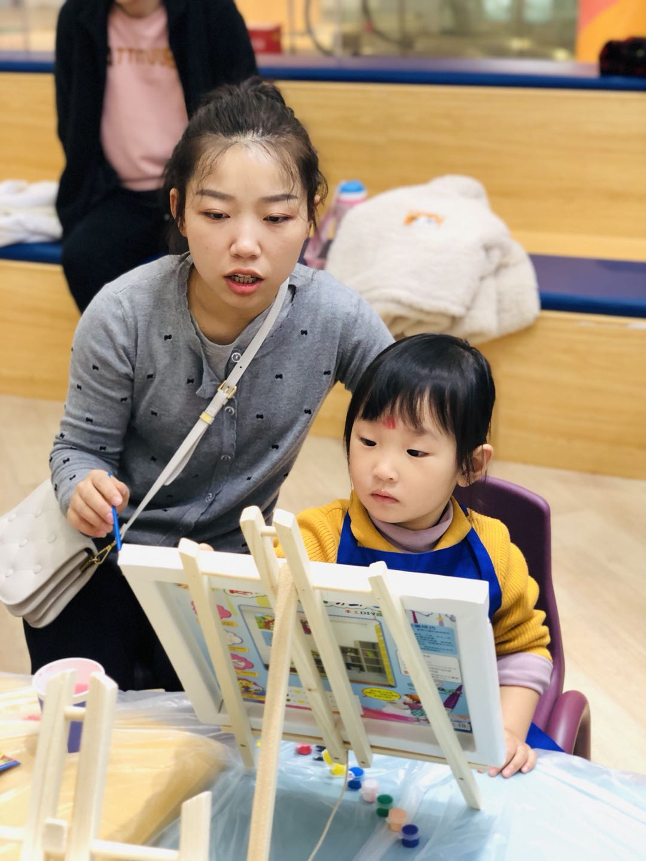 NYC纽约国际西安早教中心:『活动回顾』我是油画家